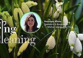 Spring Forward, Penelope Moore, Spring Cleaning, Saunders, Shelter Island, Real Estate