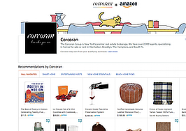Corcoran teams up with Amazon to recommend trendy home add-ons