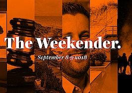The Inman Weekender, September 8-9, 2018