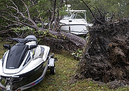 Realtors and homes at risk as Hurricane Michael hits