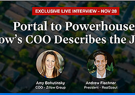 PREVIEW: Exclusive live interview with Zillow's outgoing COO