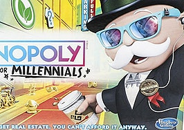 'Monopoly for Millennials' hits shelves, sans real estate