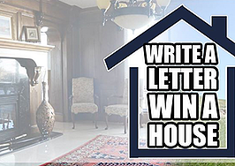 Enter to win a $1.3M home for just $19 and an essay