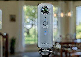 Ricoh announces new flagship Theta camera for 360-degree tours