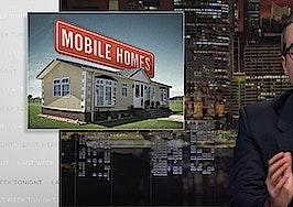 HBO's John Oliver puts spotlight on mobile home industry