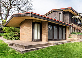 A home inspired by Frank Lloyd Wright is up for sale for $540K