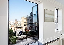 Violinist Isaac Stern's swanky New York penthouse sells
