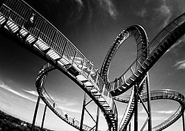 Get off the stock market roller coaster and into real estate