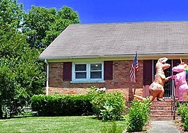 Unicorn and dinosaur steal the show in Kentucky home's listing photos