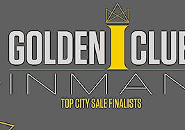 Inman Golden I Club finalists: Best city sale