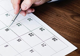 The onboarding calendar to speed new agents into production