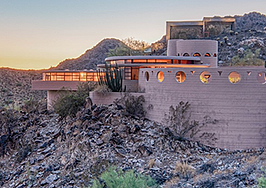 The final home Frank Lloyd Wright designed is heading to auction