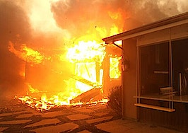 Thousands of homes at risk as fires continue to ravage California