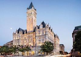 Trump Organization contemplates selling Washington hotel