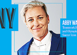 Olympic gold medal soccer icon Abby Wambach takes the stage at Inman Connect New York