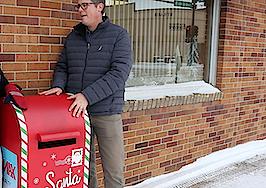 North Dakota RE/MAX branches install Santa mailboxes