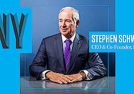Billionaire Blackstone CEO Stephen Schwarzman is taking ICNY stage