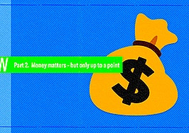 Money matters — but only up to a point
