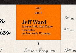 The top Jackson Hole agent trying to stay on schedule in ski country