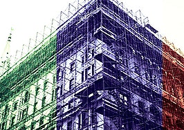 Shrouded in steel: Scourge of New York City scaffolding turns 40