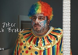 Agent dresses up as Joker clown in marketing video