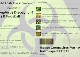 Coronavirus safe house listings pop up on Craigslist, Airbnb