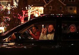 Christmas lights shine for hope amidst coronavirus fears