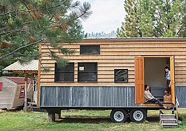 'It feels like an even better decision now': Living in a tiny home during a pandemic