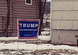 Can a Donald Trump campaign sign scare away homebuyers?