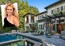 Britney Spears' former heavily gated mansion hits the market