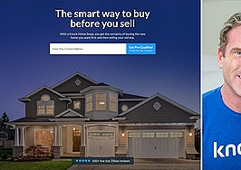 Knock pivots to mortgage financing, bridge loans, concierge service