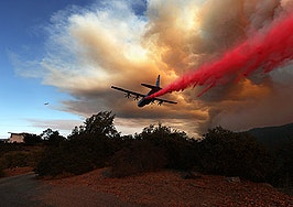 As fires ravage California, agents evacuate — and step up