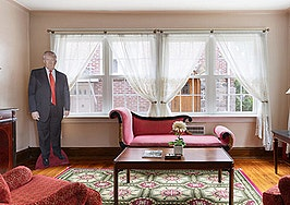 Trump fans hope to buy childhood home and give it to him as a gift