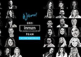 Inman announces the Inman Brand Ambassadors of 2021