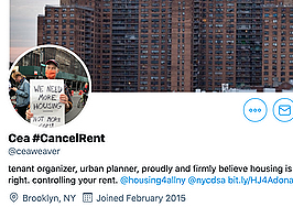 'Cancel rent' activist eyed for NYC planning commission: Report