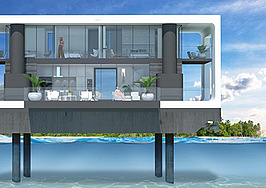 Demand to rent a floating mansion in Miami is off the charts