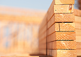 Prices for home construction materials dip for first time in 2021