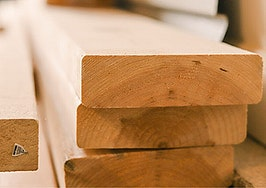 Lumber prices finally drop and the stockpilers prepare to sell