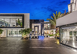 David Hasselhoff's dermatologist is selling a mansion full of NFT art