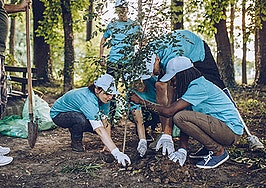 Want to focus on the future? Give back to nature