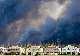 'Dire days lie ahead': The impact of COVID-19 and wildfires on housing