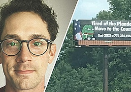 Keller Williams agent canned for conspiratorial 'plandemic' billboard