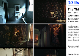 Tour a creepy 'haunted' house made by Zillow — if you dare